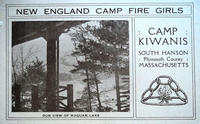 New England Camp Fire Girls, Camp Kiwanis