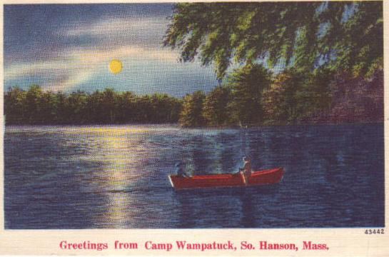 Greetings from Camp Wampatuck, 1953