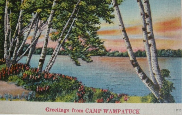 Greeting from Camp Wampatuck