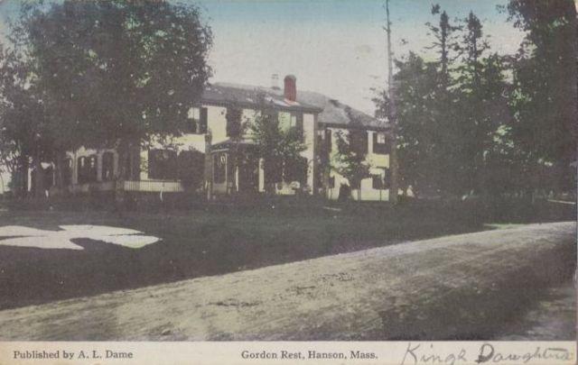 Gordon Rest, 1910