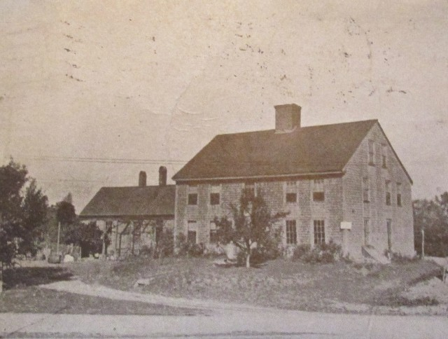Rev. Gad Hitchcock House, High St., c. 1911
