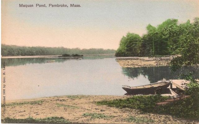 Maquan Pond, 1908 [Cranberry Cove]
