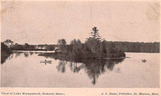 Wampatuck Pond and Fern Island